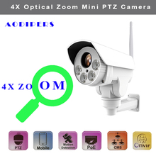 1080P Mini WIFI PTZ Camera supports H.264 H.265 CMOS 2.8-12mm Motorized Lens Onvif 2.4 wireless Waterproof Speed Bullet