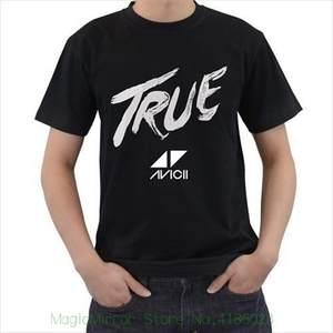 6a2040b8eb7f Avicii Dj True Mens Tshirt Tee T Shirt S M L Xl 2xl 3xl Round Collar Short  Sleeve Tee Shirts