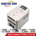 Best Inverter 0.75KW 1.5KW 2.2KW 3KW 4KW 5.5KW 7.5KW 11KW Input 2Phase AC220V Use for CNC Spindle