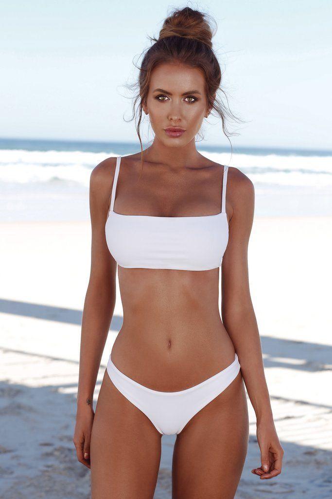 2018 New Summer Women Solid Bikini Set Push-up Unpadded Bra Swimsuit Swimwear Triangle Bather Suit Swimming Suit biquini 2