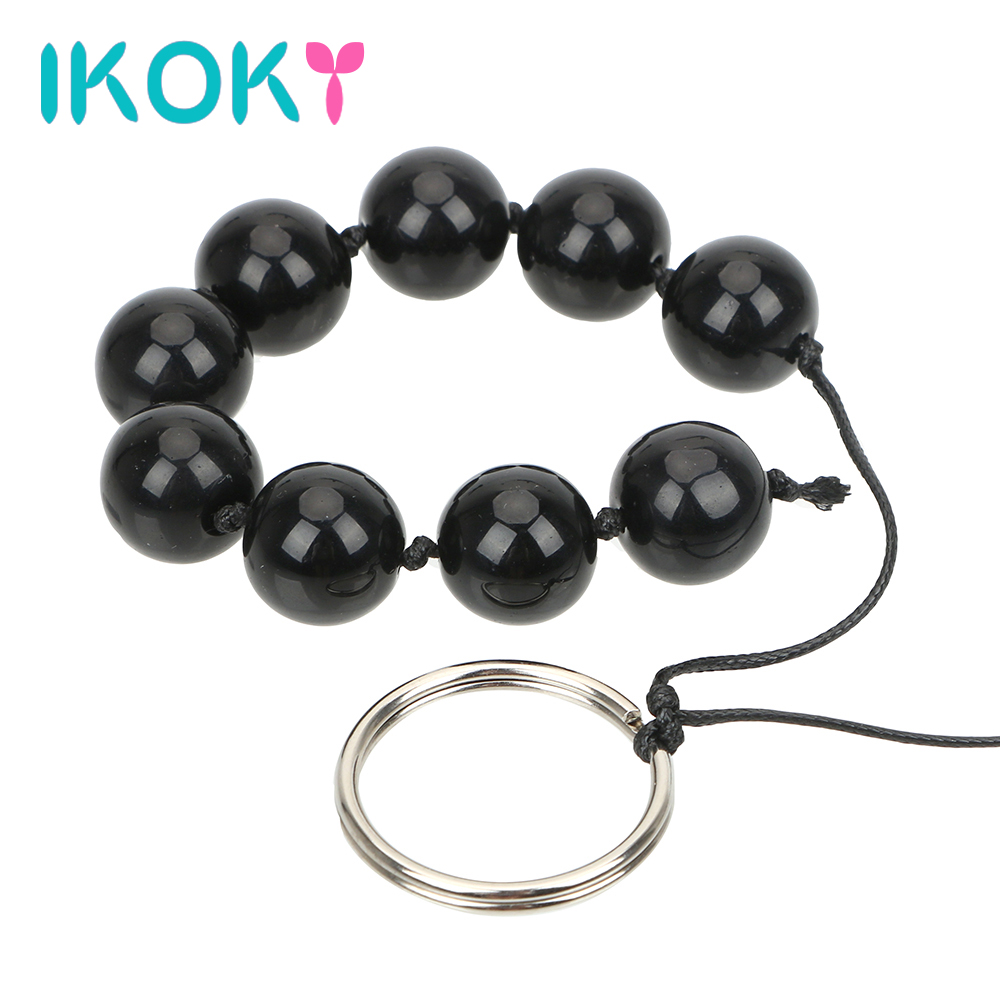 ikoky-nine-anal-balls-glass-anal-bead-butt-vaginal-plug-ring-handheld-sex-toys-for-woman-erotic-adult-products-prostate-massage