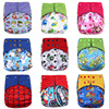 Happy Flute Cloth Diaper Newborn Washable Diaper Reusable Baby Diapers Training Pants Breathable Bamboo Waterproof Pocket