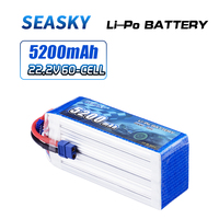 SEASKY 6S lipo Battery 22.2V 5200mAh 60C RC battery lipo 22.2V Battery XT60 for FPV drone