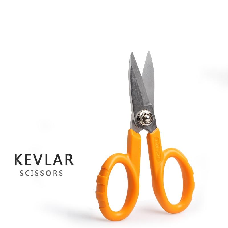 Free Shipping Fibretool GW-09 Kevlar Scissors Fiber Optic Patch Cable Scissors For Fiber Stripper ,Kevlar Serrated Stripper