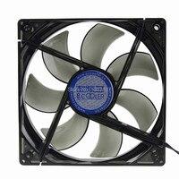 1PCS 12V 3Pin 4Pin 120mm 120x25mm PC Computer Case CPU Cooler Cooling Fan Blue LED Light