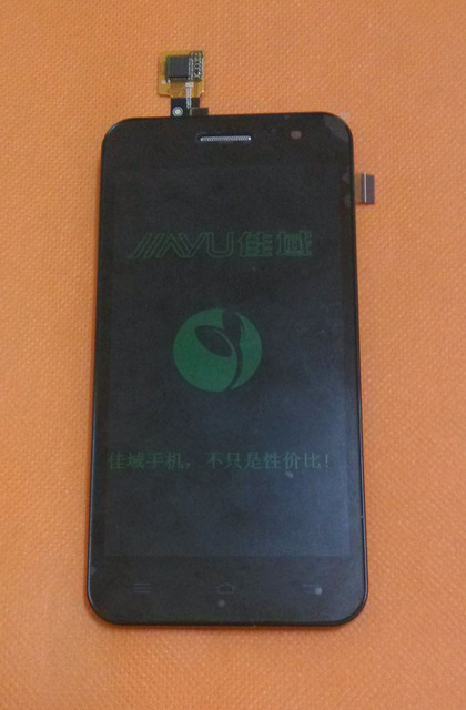 """Используется Оригинальный ЖК-Экран + Сенсорный Экран + Рамка для Jiayu G2F 4.3 """"MTK6582 Quad core 854x480 Бесплатная Доставка"""