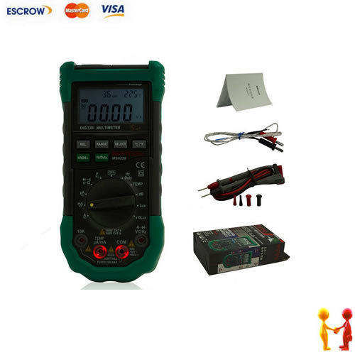 ФОТО New Mastech MS8229 5 in1 Auto range Digital Multimeter Multifunction Lux Sound Level Temperature Humidity Tester Meter