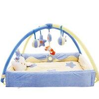 Giường cũi sơ sinh giường cầm tay bé chơi mat bé chơi đồ chơi bút
