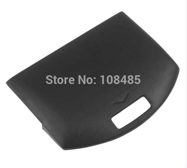 HOTHINK New Replacement Black Battery Door Cover Holder Case For PSP 1000 1001 1004 1007 1008 Fat
