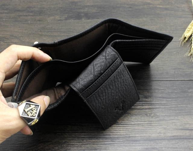 Trifold Wallet w/ Metal Chain  4