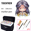 TOUCHNEW 30 40 60 80 168 Colors Drawing Markers Colored Markers Set Alcohol Art Sketch Marker