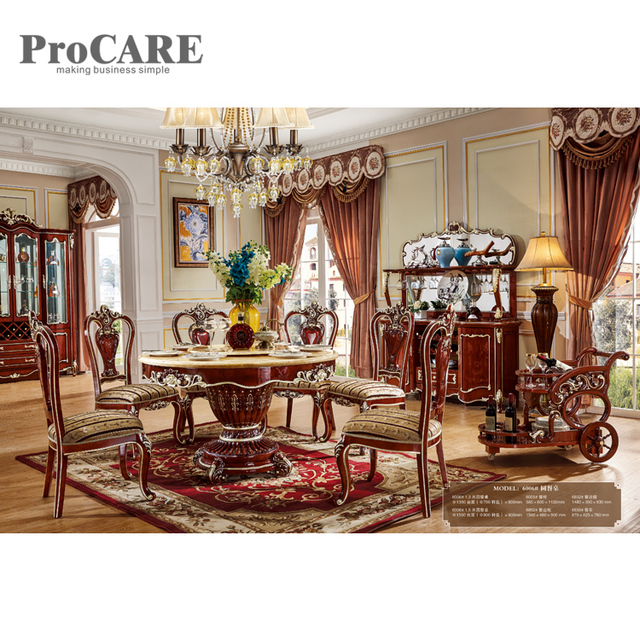 round living room set beige sofa decor us 2399 0 elegant dining table sets with rotating centre dinning tables wood 6006 in from furniture on aliexpress com