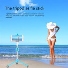 Tripé Selfie Sem Fio BT 4.0 Vara Titular do Telefone Celular Portátil Do Obturador Remoto Selfie Vara Monopé para IOS Smartphone Android