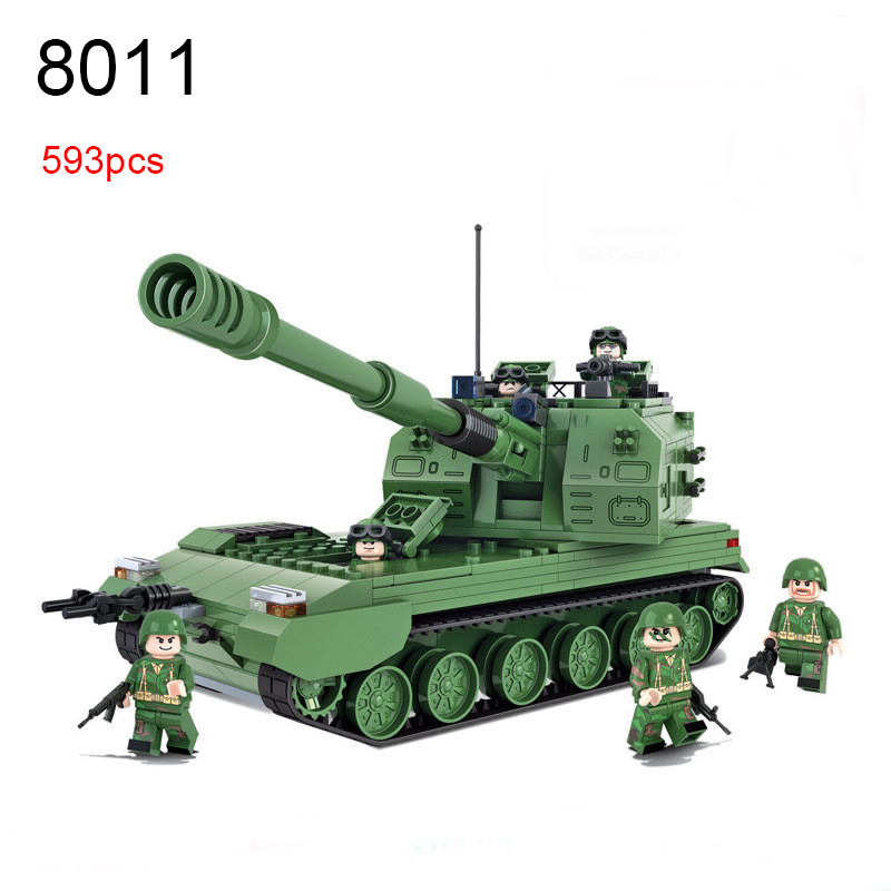 Winner 593pcs Land War Heroes Military Series Building Blocks 05 Automatic howitzer bricksToys Educational Toys For Boys Gifts 593 bbcq 593 bbcy 593 bbcm 593 bbco toner cartridge chip for dell colour cloud multifunction c7765 7765 powder refill resetter