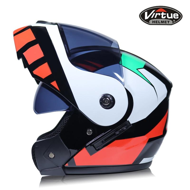 Best Sales Safe full face helmet motorcycle helmet Flip up helmet with inner sun visor everybody