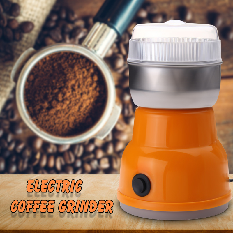1 Pcs Auto kaffeemühle Maschine EU Stecker 220 V 200 W Küche Salz Pfeffer Muttern Elektrische Kaffeemühle