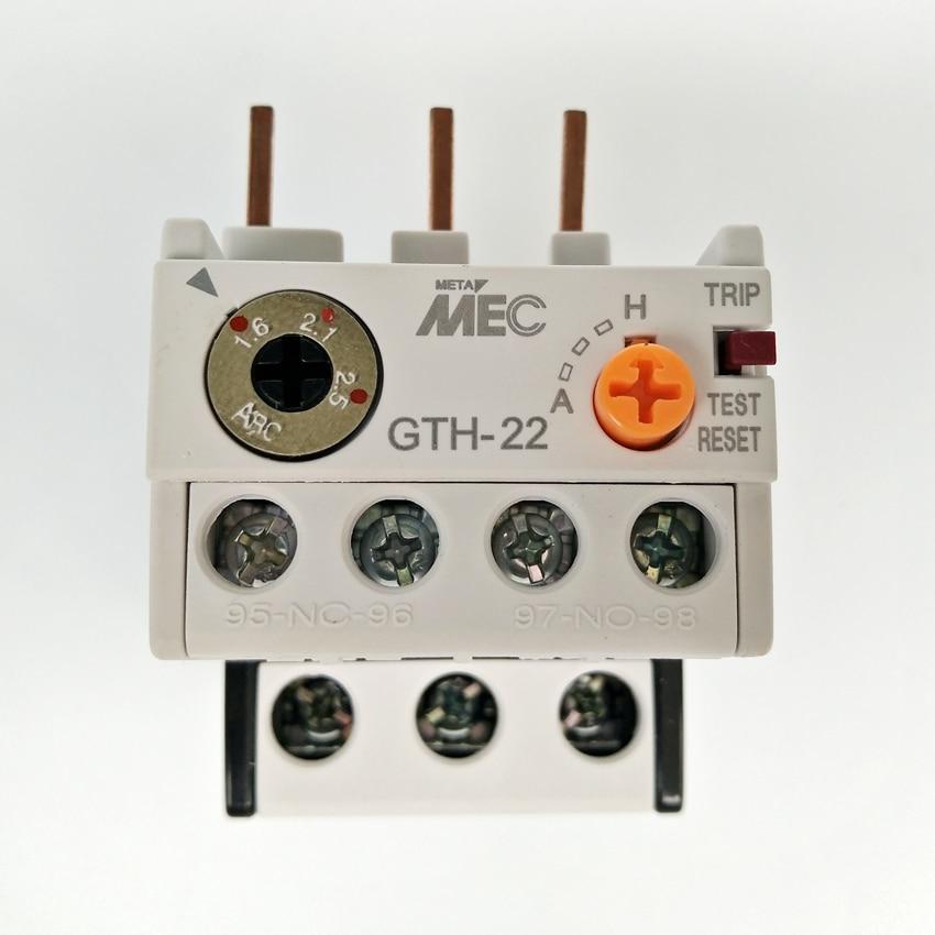 Original LS Thermal Overload Relay MEC GTH-22/3 1.6-2.5A thermal relay thermal overload relay tk 0n 0 95 1 45a