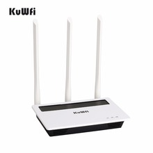 2.4G 300Mbps High Power Wireless Router Strong Wifi Signal Home Networking AP with 3*6dbi Antenna Wifi Repeater