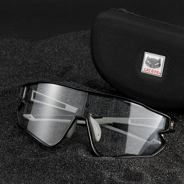 Cateye men ciclismo óculos mulher photochromic esporte bicicleta polarizada óculos de sol mtb bicicleta caminhadas óculos 100% speedcraft 5