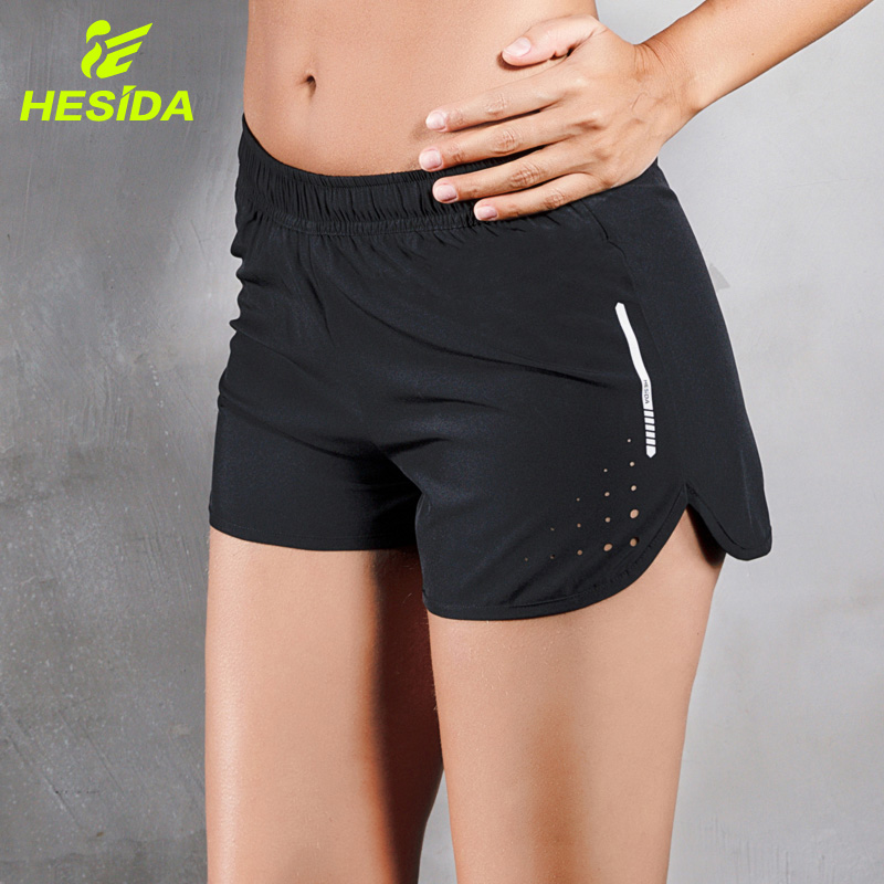 Women's Running Yoga Sports Shorts Pants Dry Fit Fitness Lady Gym Athletic Training Sexy Workout Jogging Short Run For Women