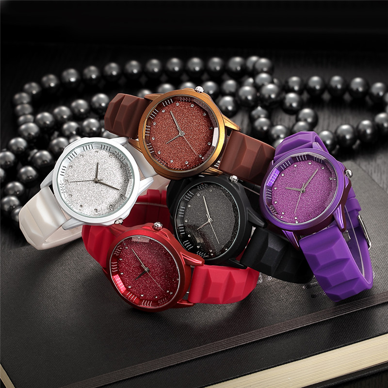 REBIRTH New Casual Ladies Watches Women Watch Top Brand Luxury Bracelet Quartz Clock Classic Female Rubber Strap Wrist Watch top new fashion brand women lady luxury clock female stylish casual business elegant steel wrist quartz bracelet watch re024