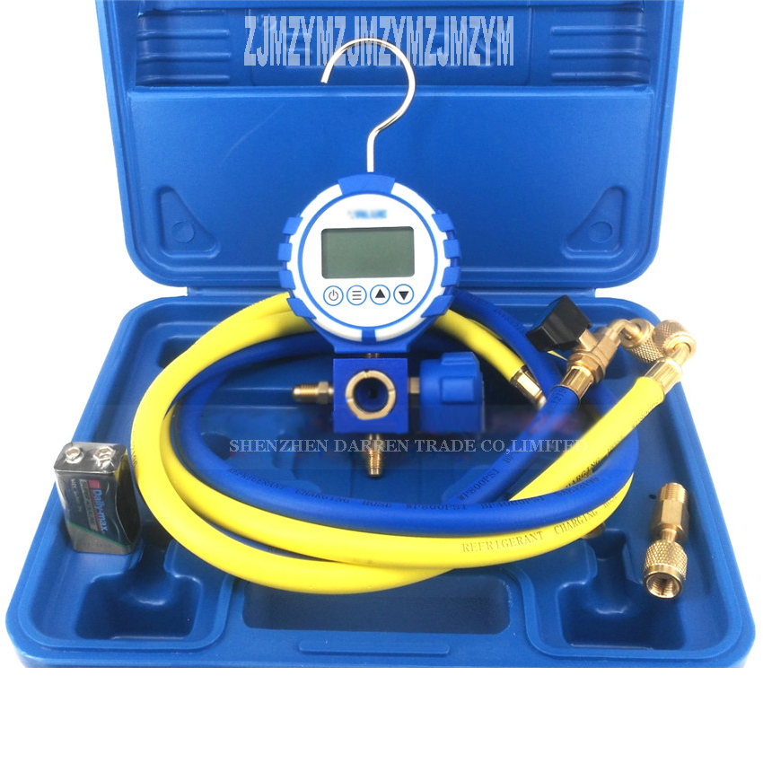 VDG-S1 New Rapid Type Pressure Gauge Tester Kit,Compression Gauge,Tester Diagnostic Tool Digital snow species table dig цена