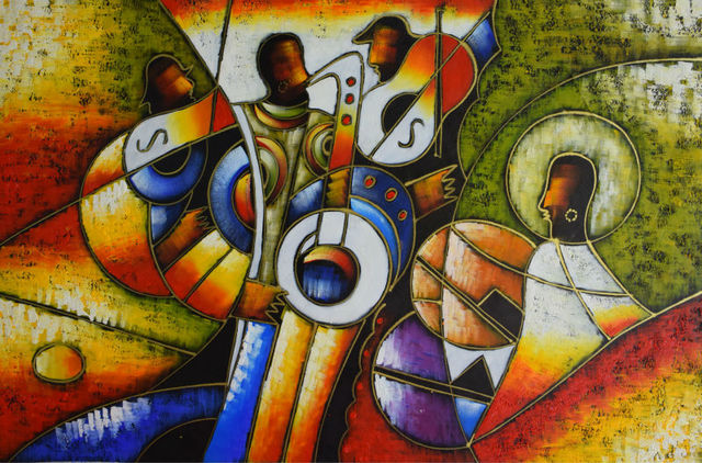 Hand painted Picasso oil painting on canvas Abstract ...