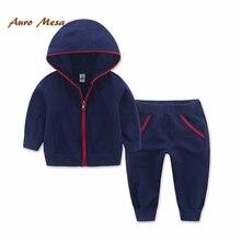 Свободного покроя бренд детской одежды весна осень мальчик костюм детская одежда комплект спортивный костюм