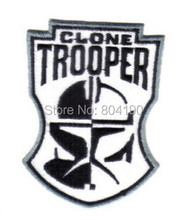Masque de Star Wars, Clone de Star Wars, Logo du masque, uniforme du film télévisuel, brodé de fer sur le vêtement, Badge.(China)