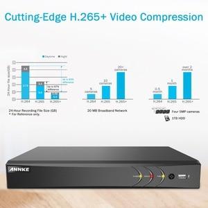 Image 2 - ANNKE H.265 + 5MP Lite Ultra HD 8CH DVR CCTV Security System 4PCS 5MP IP67 Weaterproof Outdoor 5MP Kamera video Überwachung Kit