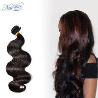 New Star Brazilian Hair Weave 1/3/4 Bundles 10A Body Wave 10 34 Virgin Thick Human Hair Weaving Cuticle Aligned Raw Hair