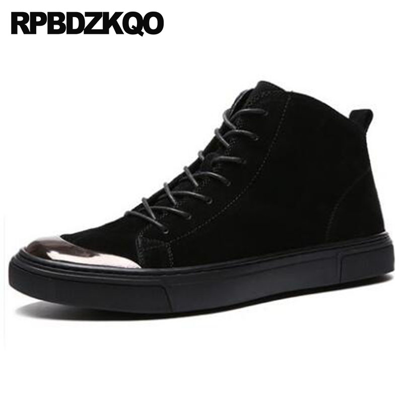 Sneakers Italian Trainer Shoes High Top Designer Lace Up Booties Faux Fur Mens Winter Boots Warm Black Ankle Genuine Leather одеяла primavelle одеяло novella цвет белый 200х220 см