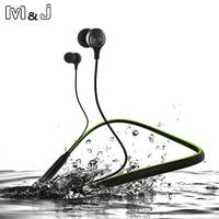 M J HT1 Wireless Bluetooth Earphone Headphones With Microphone Sport Stereo V4 1 Bluetooth Earphone For