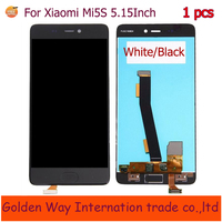 High Quality Touch Screen Glass LCD Display Digitizer Assembly For Xiaomi Mi5S Mi 5S Smart Phone