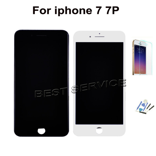 the latest 65e04 bc7a7 US $19.38 9% OFF|No Dead Pixel LCD For iPhone 7 7 Plus LCD Display With  Touch Screen Digitizer for iphone7 Assembly -in Mobile Phone LCDs from ...