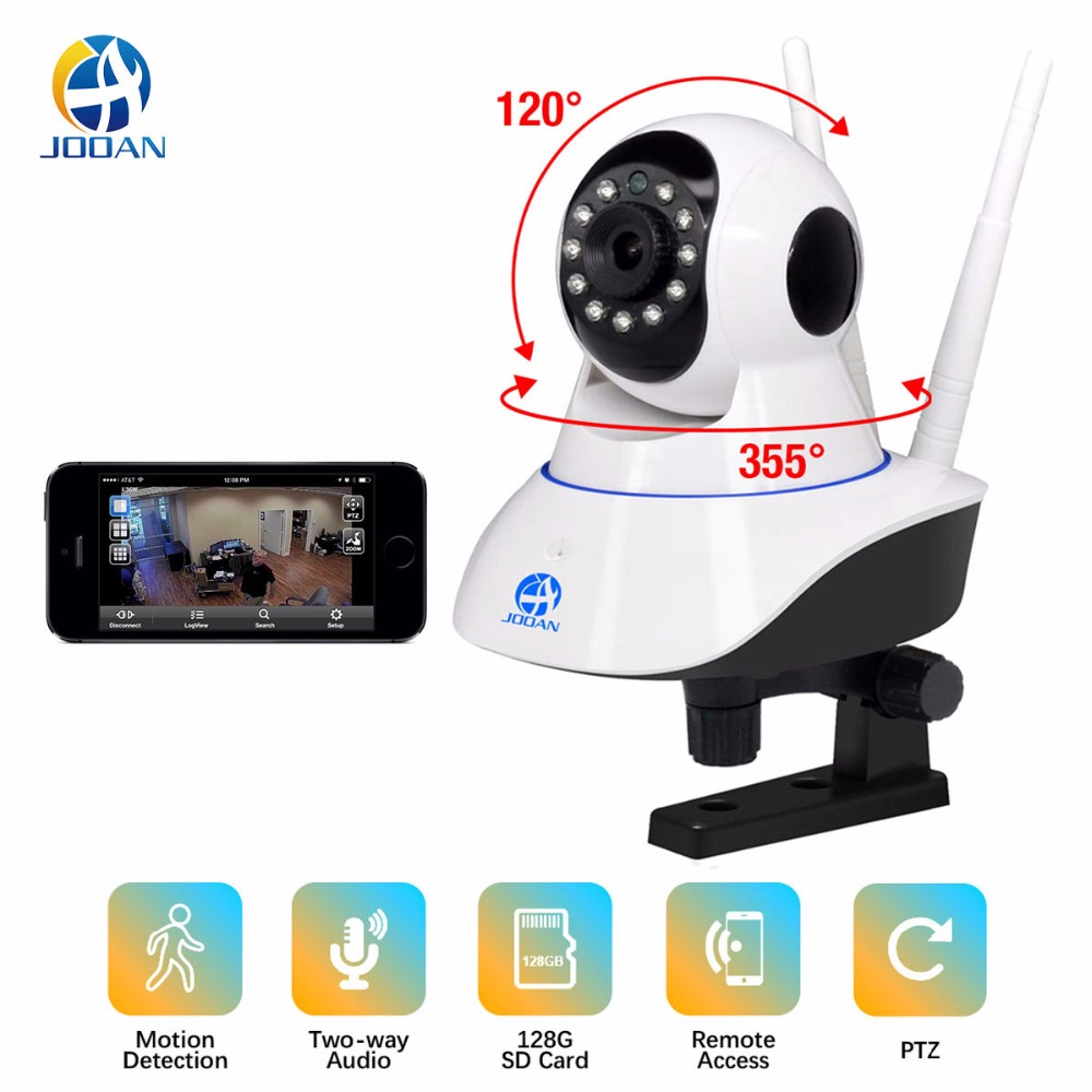 JOOAN 1080 p Câmera IP Sem Fio 720 p HD Wi-fi inteligente Home Security Vigilância Video Vision IRCut CCTV Pet/ monitor do bebê