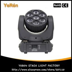 Led reflektor z ruchomą głowicą 7*10W OSRAM Led 4w1 kolor DJ oświetlenie sceniczne|dj light|beam lightstage light -