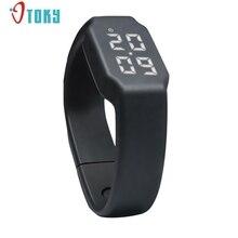 Excellent Qualité 3D LED Calories Podomètre Sportsmart Smart Bracelet Montre-Bracelet Unisexe Bracelet À Puce Expédition de Baisse