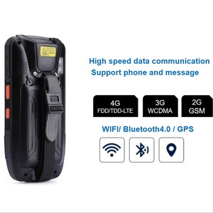 Image 2 - PDA Scanner Portable Data Collector IP65 Rugged Warehouse 2D QR 1D Laser scanner PDA Handheld Terminal Android Barcode Scanner