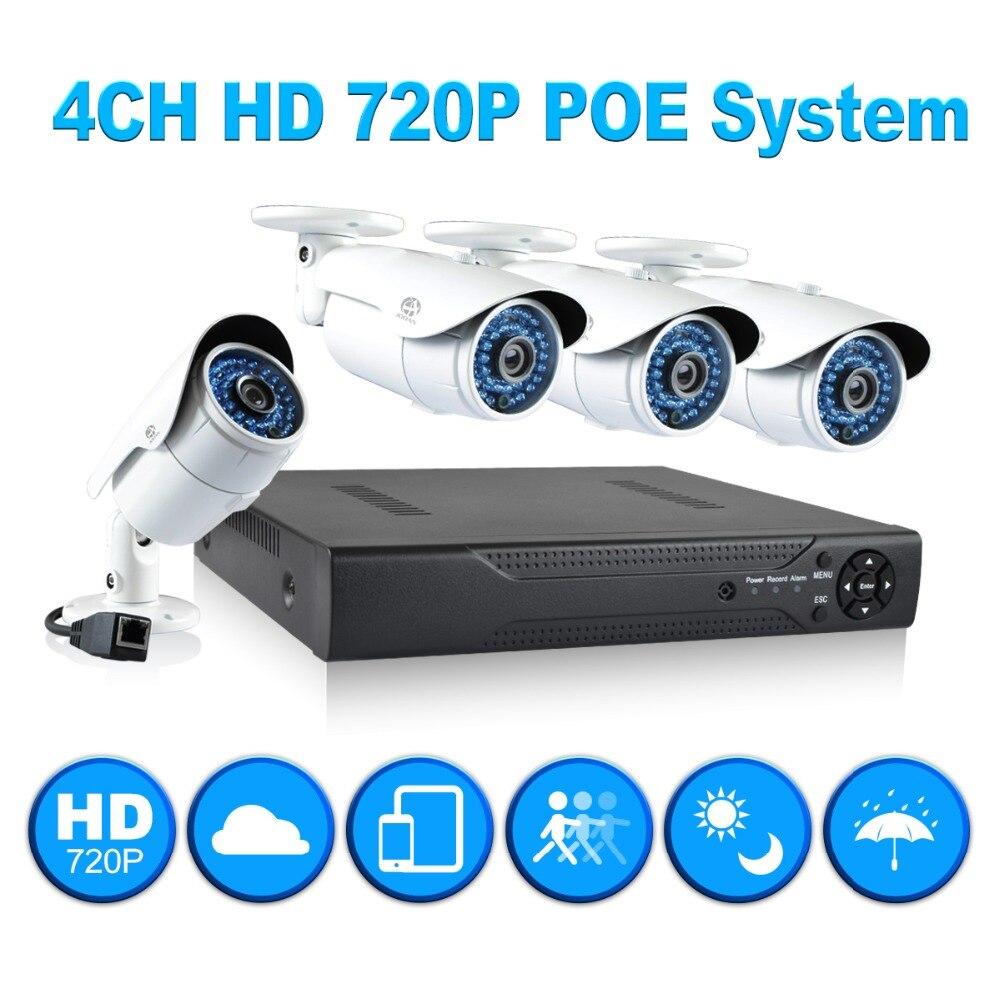 Система видеонаблюдения 4/720p PoE