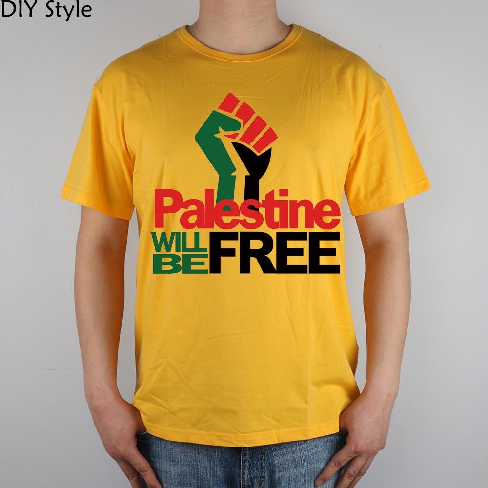 PALESTINE LIBERARÁ hombres palestinos camiseta de manga corta 2078 - Ropa de hombre - foto 4