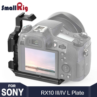 SmallRig RX10 IV L Plate L Bracket for Sony RX10 III IV Quick Release Plate for Tripod Attach With Arca Style Plate 2230