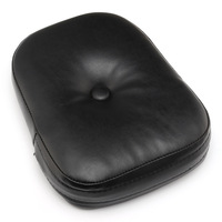 Neverland Motorcycle Rear Backrest Sissy Bar Seat Cushion Pad For Harley Yamaha Suuzki Universal Black D35