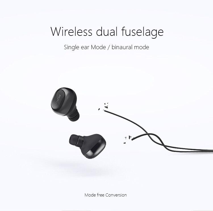 Mini Bluetooth 4.1 Headset Wireless Sport Bluetooth Earphone with Mic In Ear noise reduction Earbuds