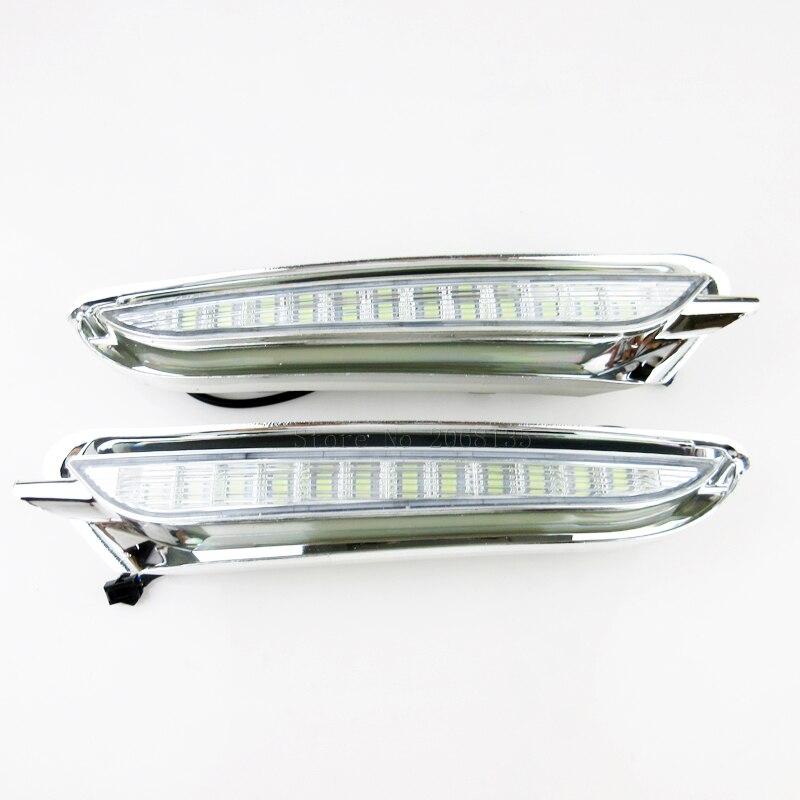2шт/много Новый Выключить реле стиль LED DRL автомобиля дневного света для Buick Encore с/Опель Мокка 2012-2016