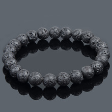 19 Styles Elastic Natural Stone Bracelet & Bangle With White Howlite Malachite Lava Turquoise Buddha Beads Bracelets Tiger Eye
