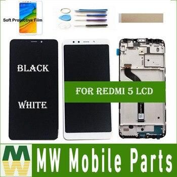 Redmi 5 для Xiaomi Hongmi 5,7 Redmi5 ЖК дисплей + сенсорный экран с рамки без рамки сборки черно белый цвет комплект >> MW MobileParts Co., Ltd