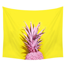 Pineapple Tapestry Bedroom Living Room Decoration Big Beach Mat Kawaii Table Creative Household Products