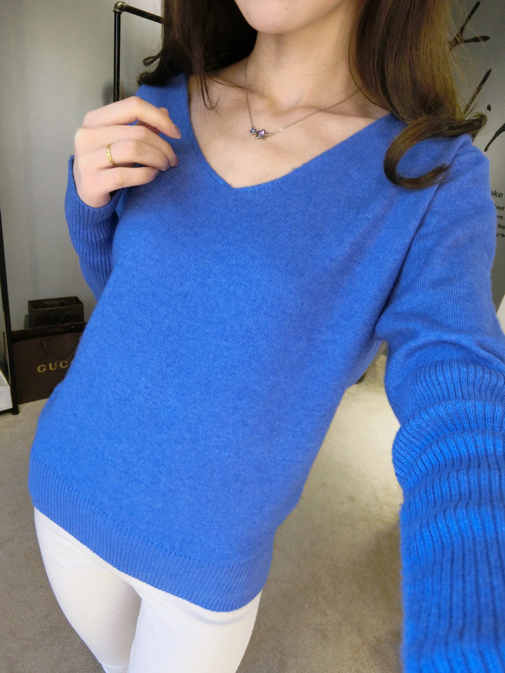 LOWEST-PRICE-Fashion-Women-s-Pullover-Sweater-Lady-V-neck-Batwing-Sleeve-Cashmere-Wool-Knitted-Solid (1)