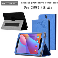 High Quality PU Leather Case For Chuwi Hi8 Air Printing Skin Protective Sleeve For Chuwi Hi8